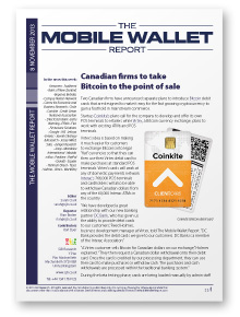 The Mobile Wallet Report, 8 November 2013