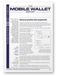 The Mobile Wallet Report, 11 October 2013