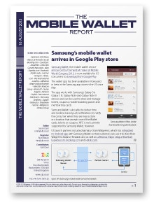 The Mobile Wallet Report, 16 August 2013