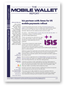 The Mobile Wallet Report, 9 August 2013